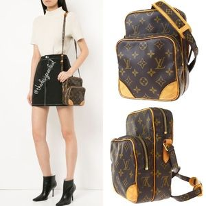 💯% Auth Louis Vuitton Amazon Messenger Crossbody